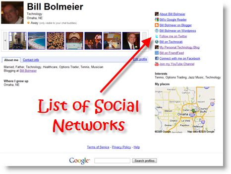 Bill Bolmeier Google Profile