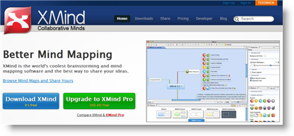 XMind - Social Brainstorming and Mind Mapping